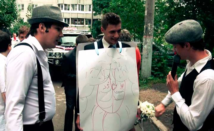 Конкурсы на свадьбу в стиле мафии