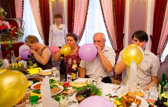 Конкурс с шарами и выкуп