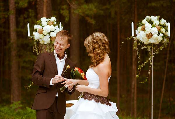 Образ жениха на шоколадной свадьбе