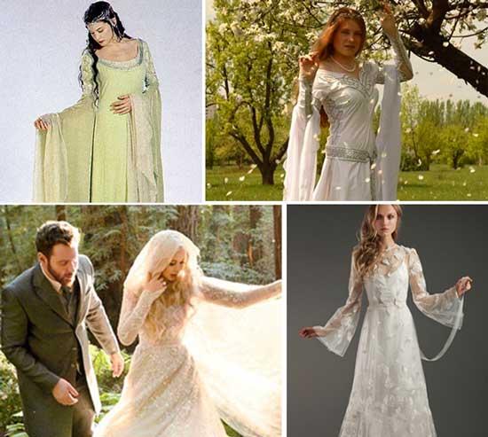 Одежда эльфийской свадьбы