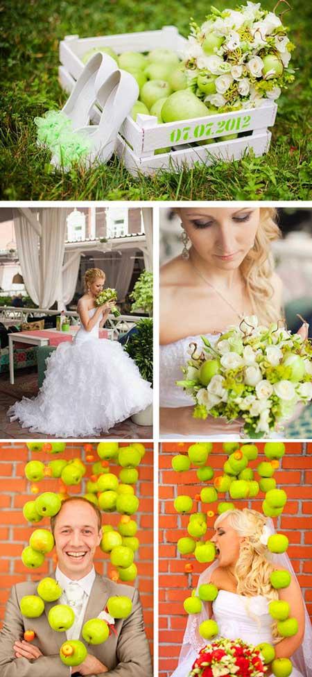 Осенняя яблочная свадьба