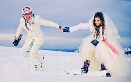Погода зимней свадьбы