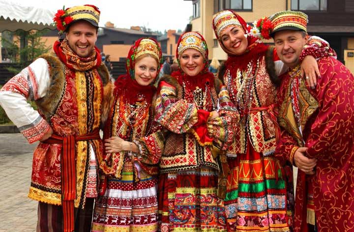 Русская народная свадьба