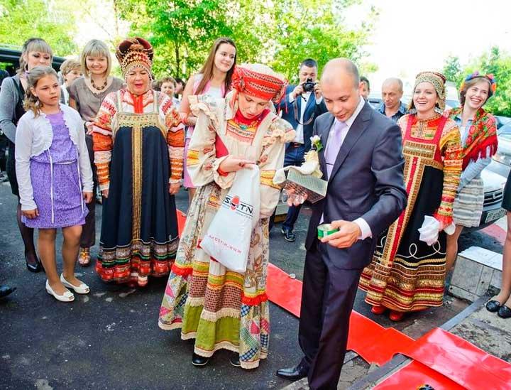 Свидетельница и русский выкуп