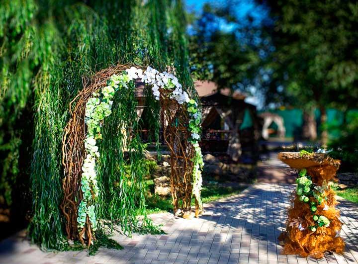 Свадебная арка эльфов