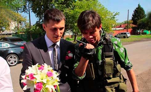 Выкуп на свадьбу в стиле Мчс