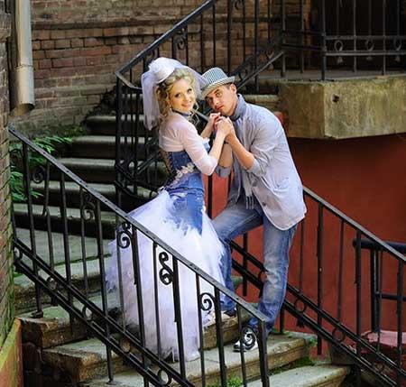 Свадьба в динсовом стиле