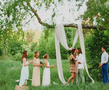 Свадьба в лесу