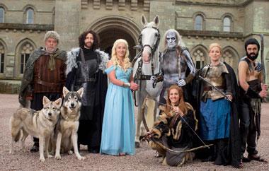 Свадьба в стиле игры престолов