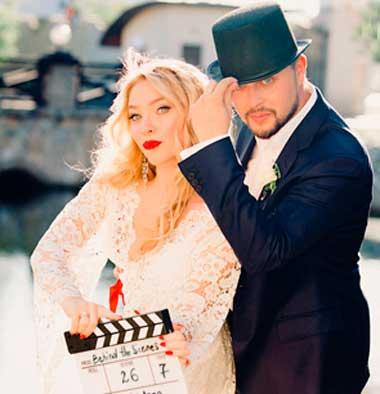 Свадьба в стиле оскар