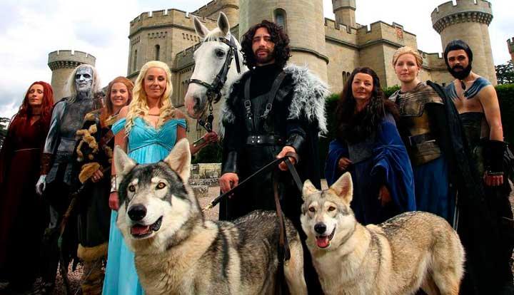 Свадьба по мотивам игры престолов
