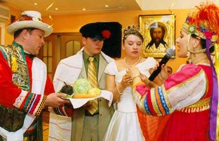 Сказочный выкуп на свадьбе