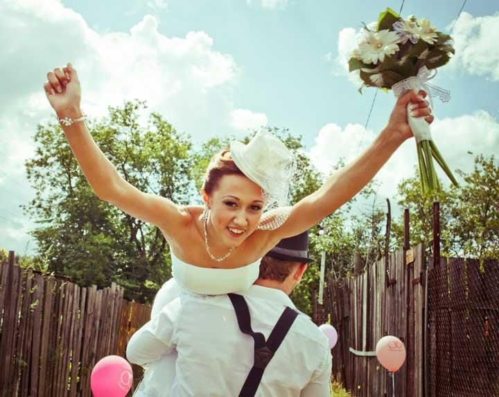 Съемка свадьбы в частном доме