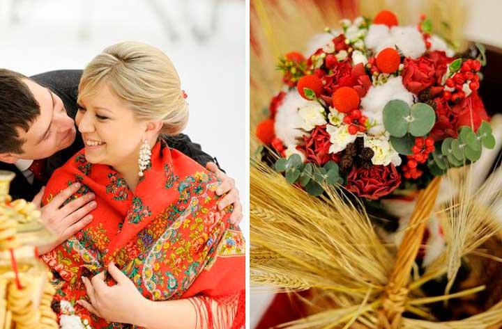 Стилистика русской свадьбы