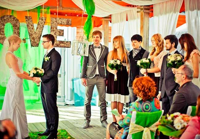 Сценарий свадьбы в кафе