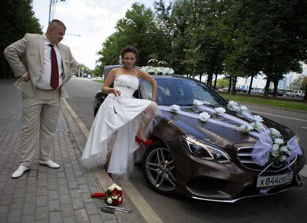 Авто премиум класса на свадьбу