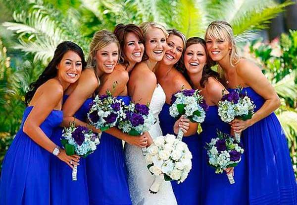 Девушки свидетели на свадьбе