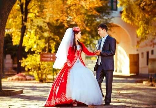 Осенняя свадьба в татарской свадьбе