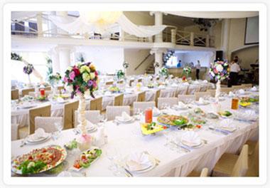 Резервация свадебных столов