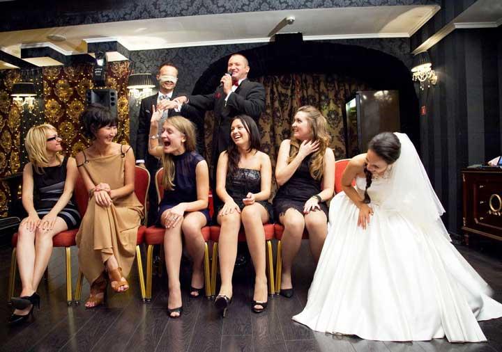 Знакомство гостей на свадьбе