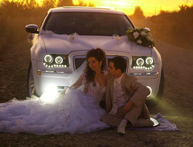 Выбор автомобиля на свадьбу