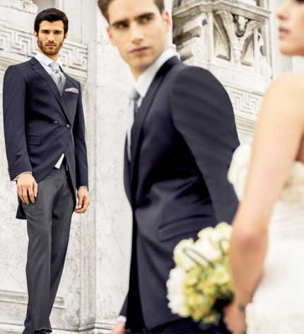 Жених и букет невесты