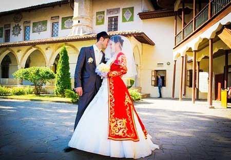 Наряды молодожен на татарской свадьбе