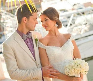 Наряд невесты и жениха