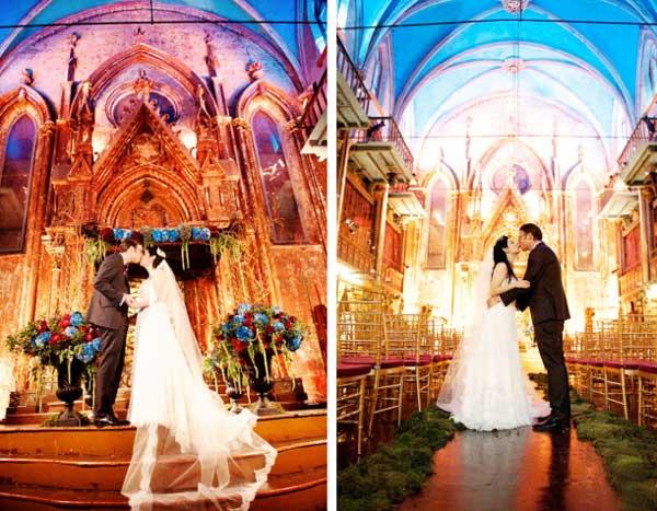 Необыкновенная свадьба в замке