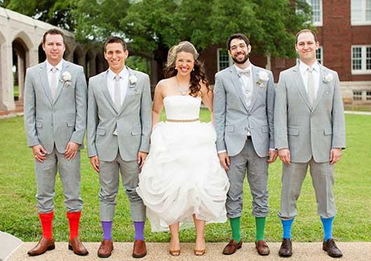 Выбираем носки на свадьбу