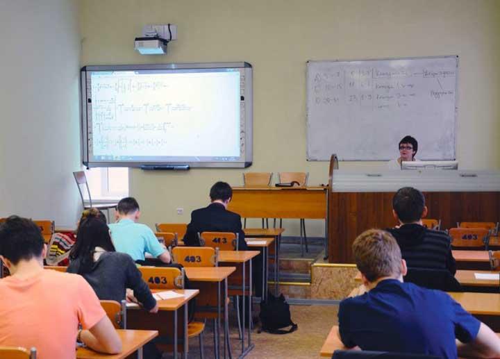 Обучающая съемка классов и университет