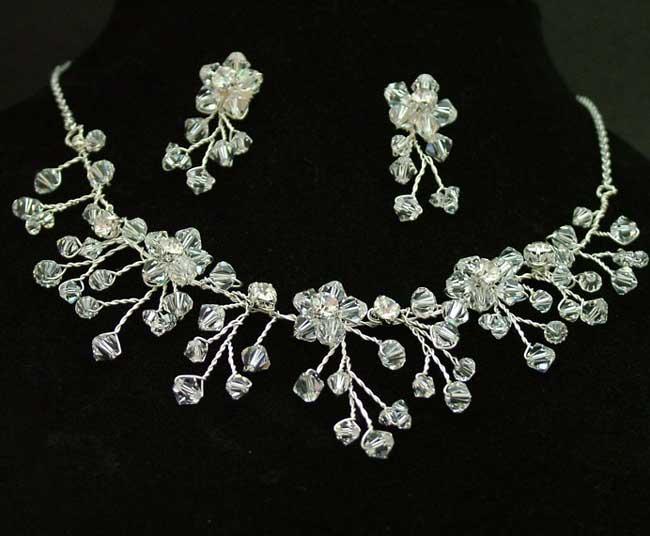 Ожерелье на свадьбу своими руками