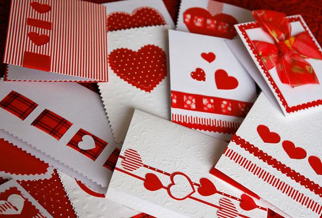 Открытка ко дню всех влюбленных