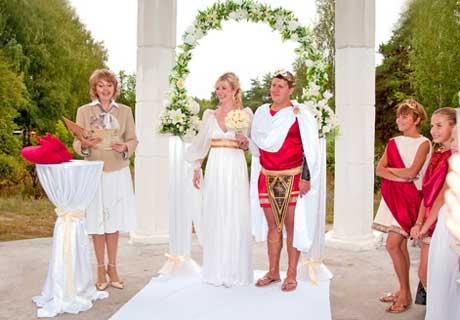 Свадебный обряд греческой свадьбы
