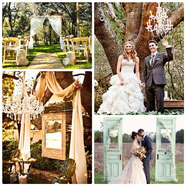 Обустраиваем природную свадьбу