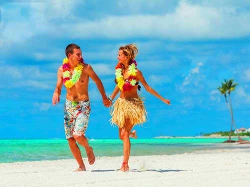 свадьбе на побережье океана гавайская