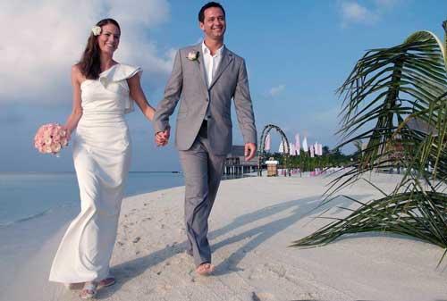 свадьба на море в морском стиле