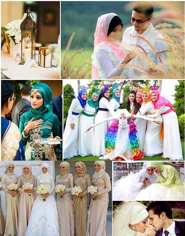 Свадьба в масульманских
