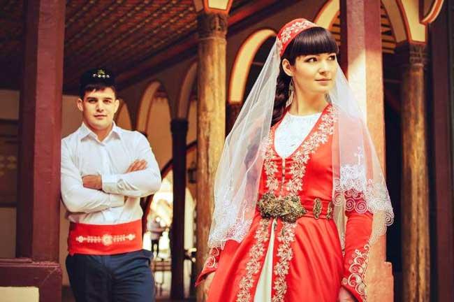 Стиль татарской свадьбы