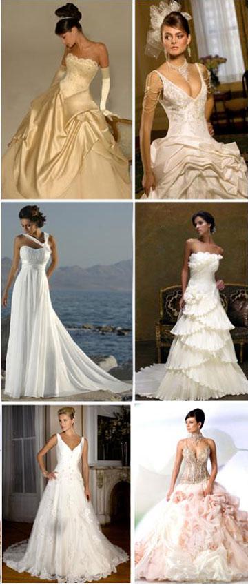 Тип свадебного платья