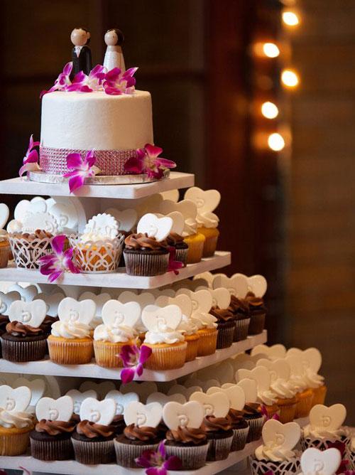 модный торт на свадьбу