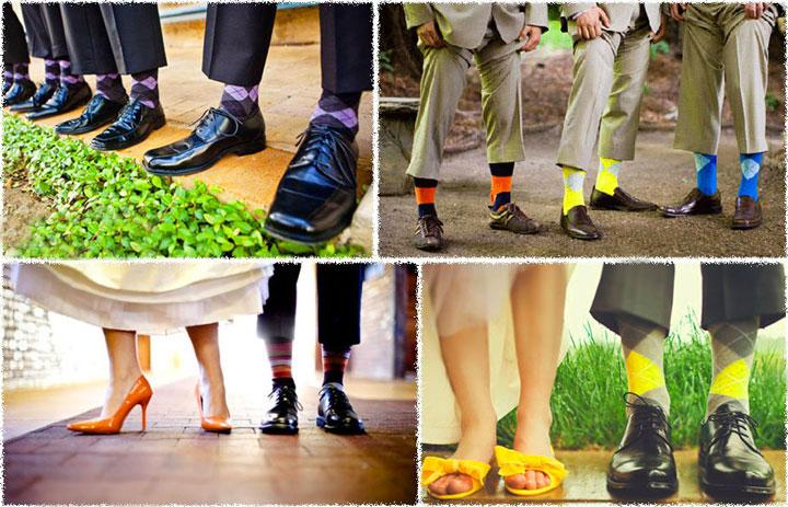 Выбор носков для ботинок