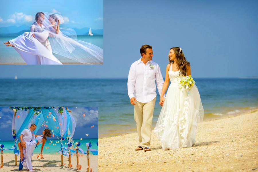 Романтика идеальной свадьбы