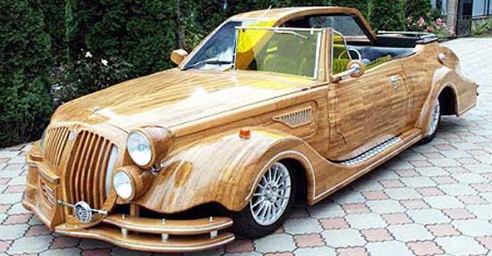 деревянная-машина