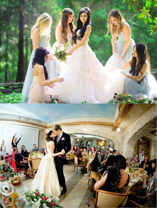 Желанные гости на свадьбе