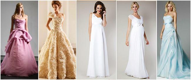 Платье для невесты весна-лето