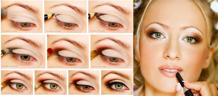 Свадебный макияж шаг 2