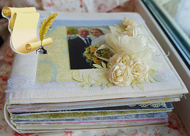 -фотоальбом-своими-руками Мк свадебный фотоальбом своими руками. Мастер-класс по оформлению свадебного альбома своими руками
