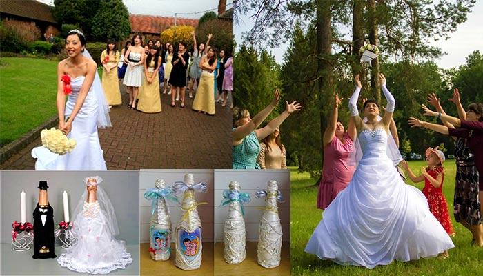 """Букет невесты и традиция свадебных """"Быков"""""""