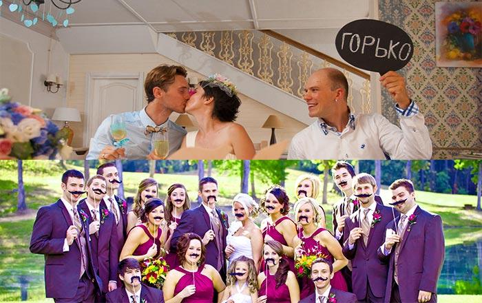 Интересные развлечения гостей на свадьбе